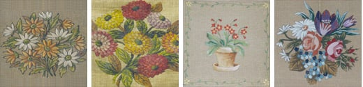 Flower Needlepoint Kits