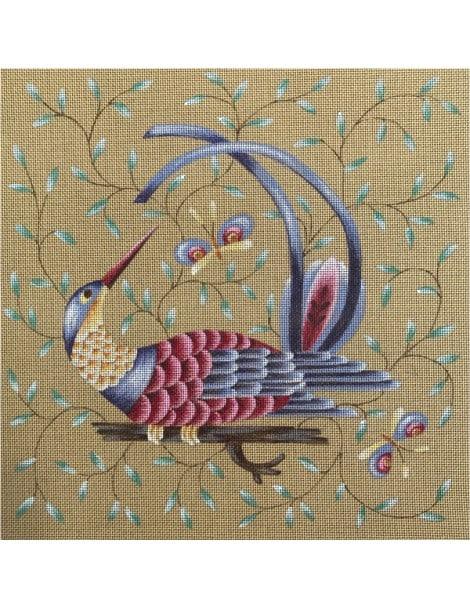 Oiseau exotique au bec pointu
